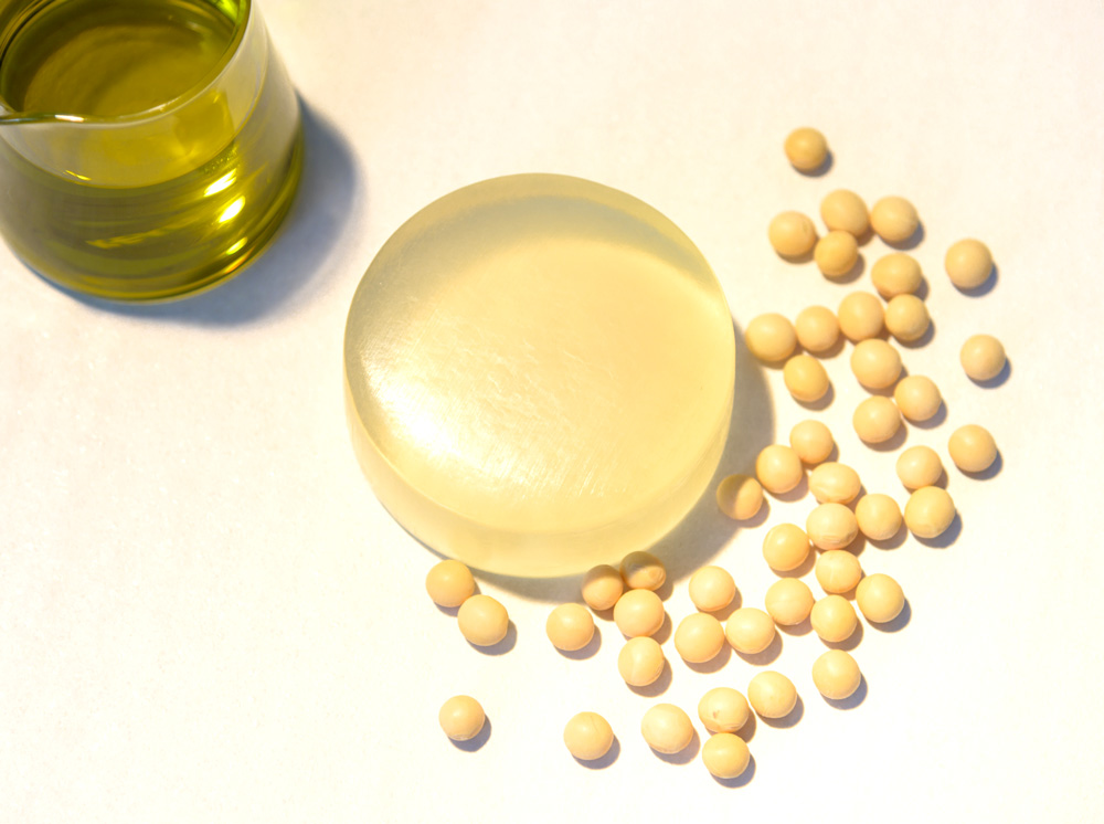 デリケートゾーン石鹸。大豆に含まれる無添加の天然成分で、デリケートゾーンの黒ずみ、かゆみ、におい、ムレをケア